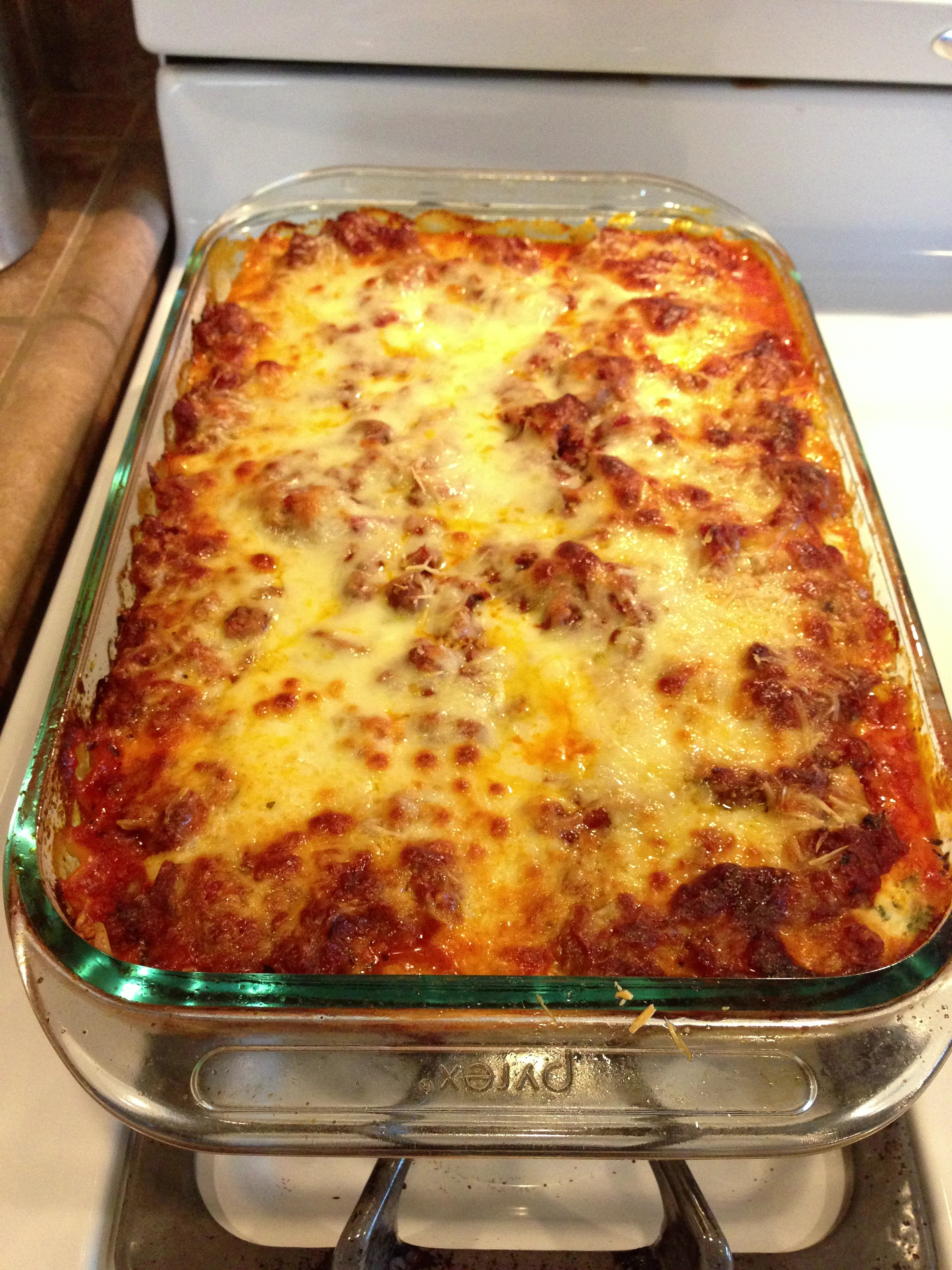 ... my husband vouched that it was the best lasagna I had made to date