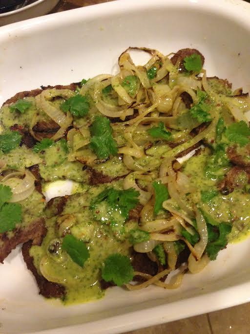Grilled Cuban Carne Asada | Sara's Eats ...